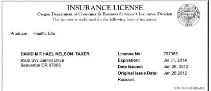 well insurance agent certification - photo #22